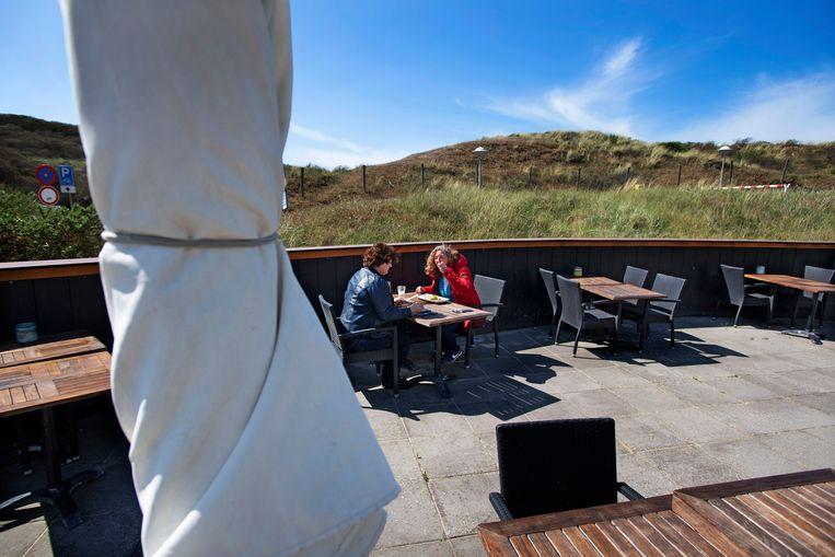 Het Fletcherhotel in Wijk aan Zee is sinds dit weekend weer geopend.  Beeld Olaf Kraak