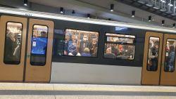 En dat in coronatijden: overvolle metro's door stakingsactie vakbonden