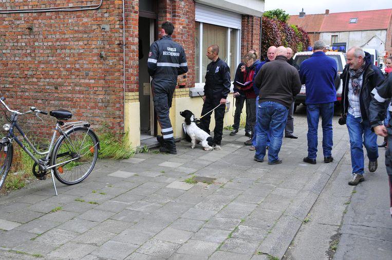 De speurders doorzochten destijds grondig het huis van de vermiste Christian Lamsens.
