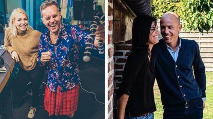 SHOWBITS. Peter Van de Veire maakt radio in een rok, Sven Nys is dolverliefd