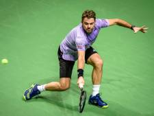 Wawrinka naar halve finale ABN AMRO World Tennis Tournament