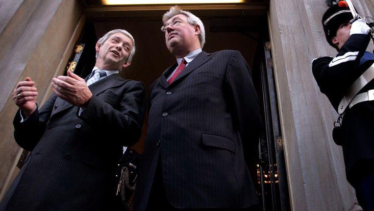 Henk Kamp en Eimert van Middelkoop in 2007. Beeld anp