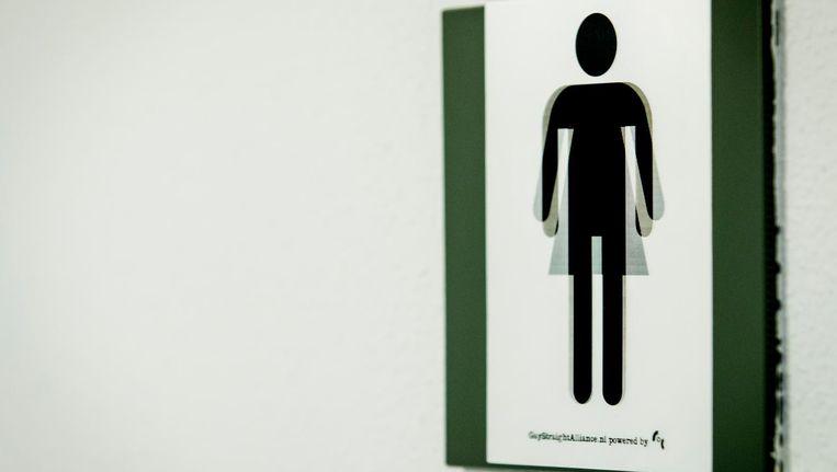Het college noemt de behoefte van transgenders en mensen met een intersekse conditie aan genderneutrale toiletten begrijpelijk. Beeld anp