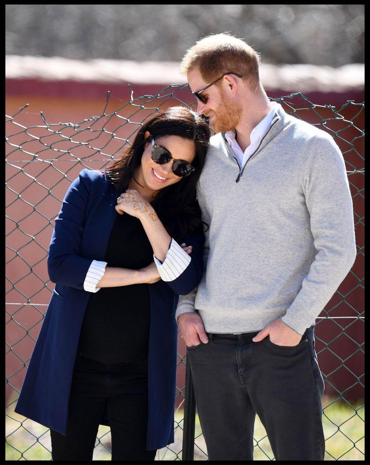 Harry en Meghan gaan richting VS.