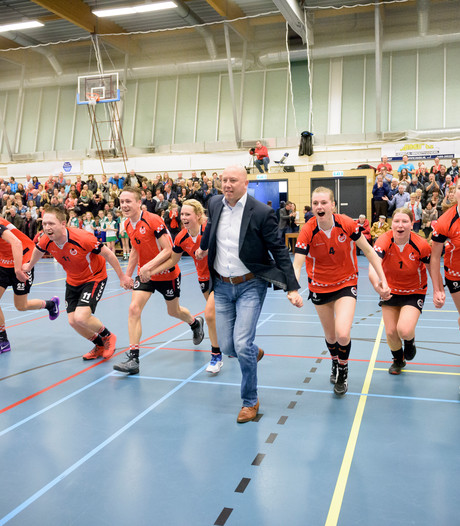 Richard van Vloten op drempel Korfbal League