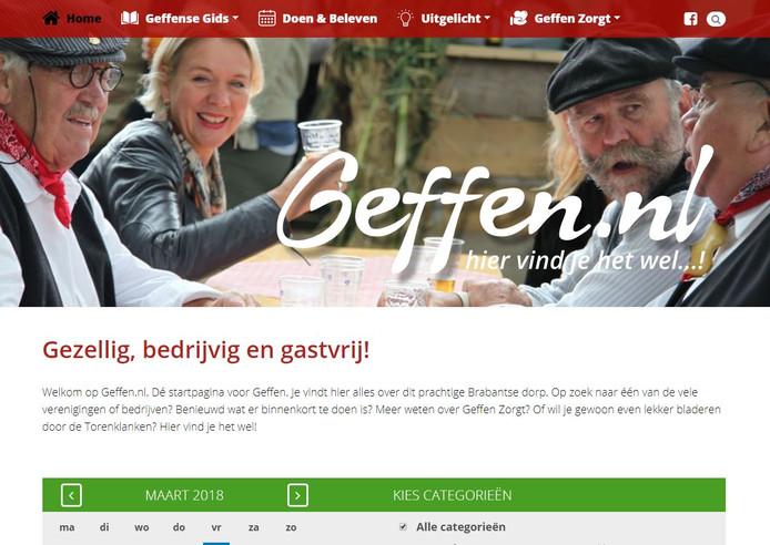 Geffen.nl, de centrale info-plek voor Geffenaren.