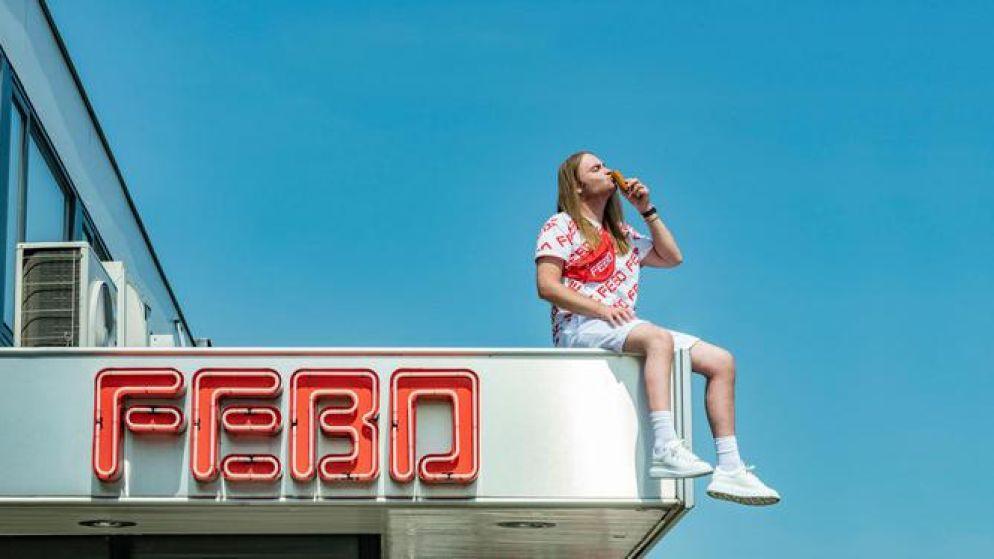 Nederlandse snackbarketen Febo lanceert alweer tweede kledinglijn