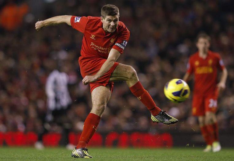 Steven Gerrard. Beeld reuters