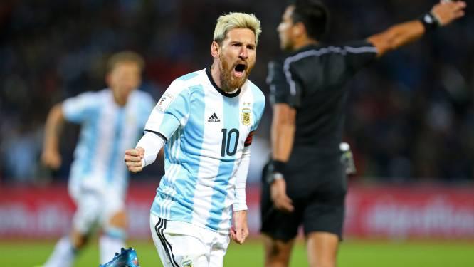 Van een geslaagde rentree gesproken: Messi knalt Argentinië naar leiding
