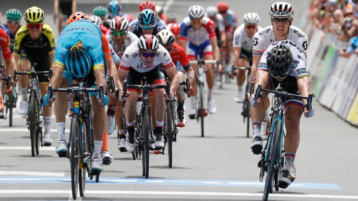 Sagan wint derde etappe in de Tour Down Under
