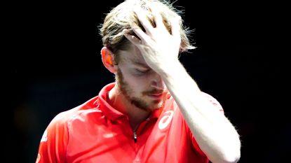 Vroege exit voor Goffin in ATP-toernooi van Rotterdam, ook blikvanger Tsitsipas uitgeschakeld