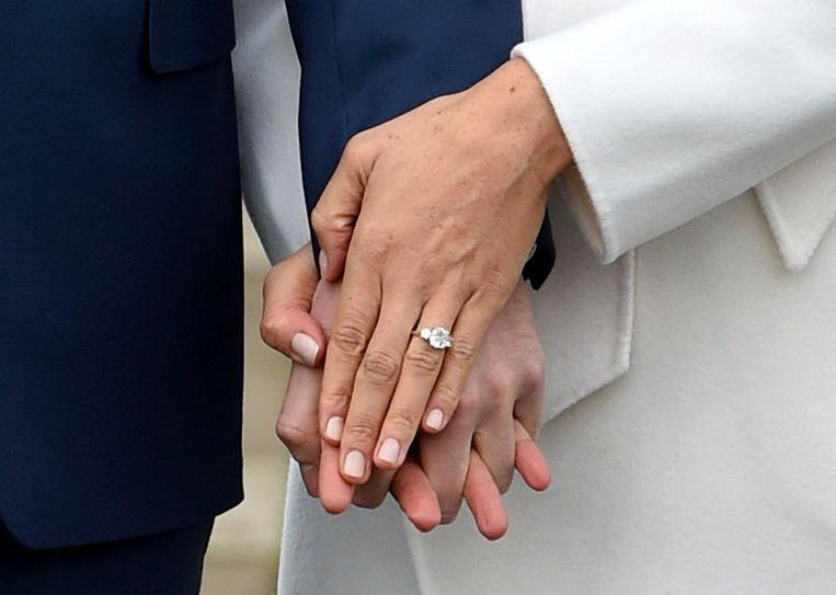 De verlovingsring.  Beeld REUTERS