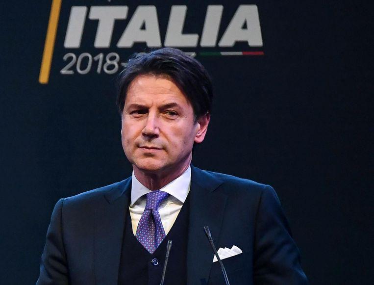 Guiseppe Conte wordt de nieuwe premier van Italië.