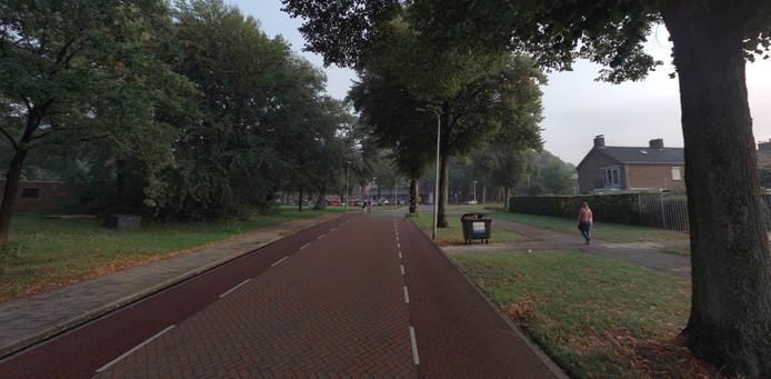 Zo kan de bekende sluiproute  Roessinghbleekweg er in de toekomst uit komen te zien, met meer ruimte voor fietsers.