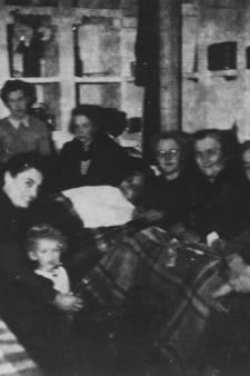 Muisstil en doodsbang in de schuilkelder van Smit-Trafo verstoppen voor vluchtende, Duitse soldaten