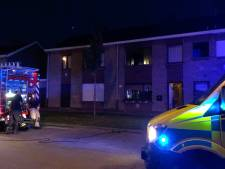 Brand door slecht gedoofde sigaret: één persoon naar ziekenhuis