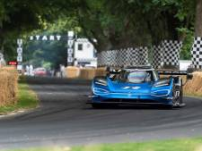 Elektrische Volkswagen verbreekt record van Formule 1-auto