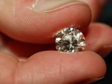 Minder Antwerpse diamanten verhandeld, maar wel voor méér geld
