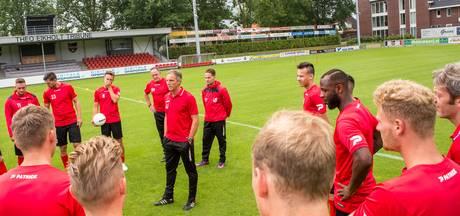 De Treffers oefent in het geheim tegen PSV