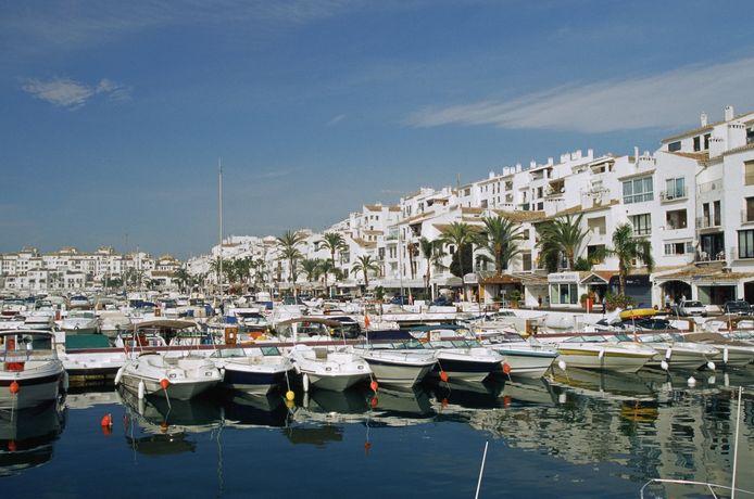 Puerto Banus in Marbella, Spanje.