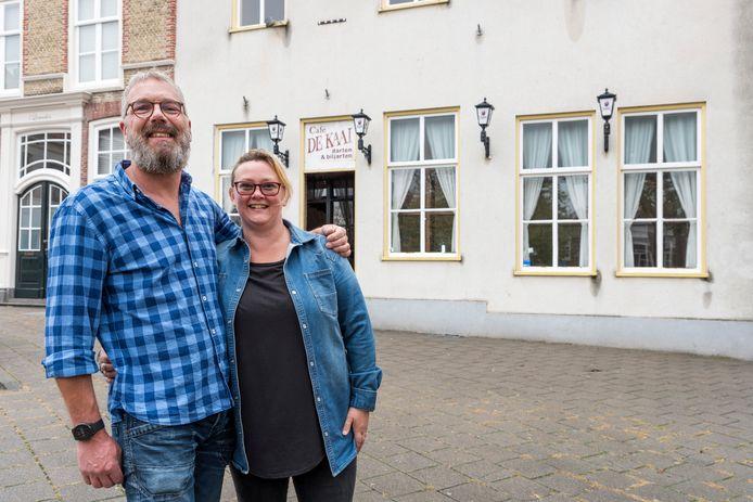 Niek Bruijs en Nancy van der Sande.