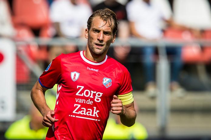 Utrecht-aanvoerder Willem Janssen.