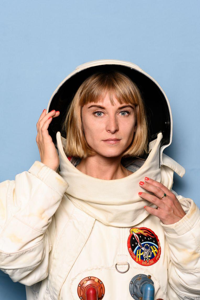 De toekomst van de ruimtevaart (50 jaar na de maanlanding). NASA is van plan om in 2024 de eerste vrouw op de maan te laten wandelen. Beeld Els Zweerink