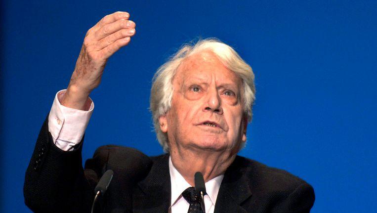 Jorge Semprún in 2005. Beeld null