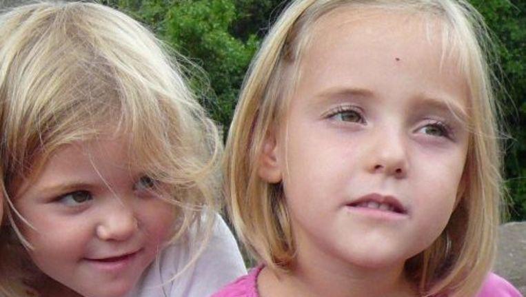 De Zwitserse tweeling Alessia en Livia (R). Foto EPA Beeld