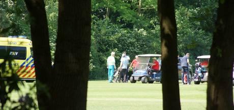 Flinke hoofdwond door golfbal op golfbaan van de Efteling