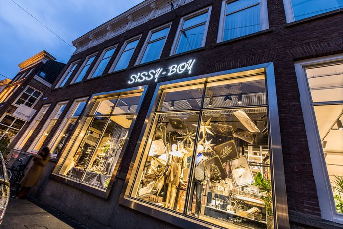 De nieuwe winkel van Sissy Boy in de Verwersstraat