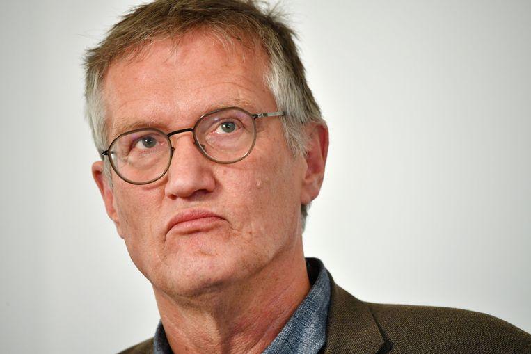 De Zweedse hoofdepidemioloog Anders Tegnell
