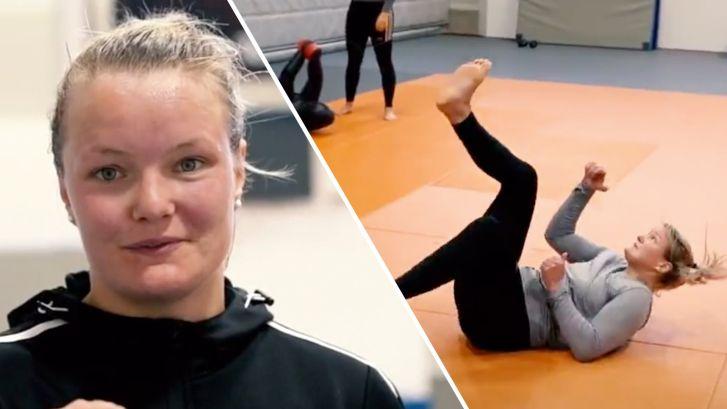 Brabantse judoka Sanne (24): 'Ik ging naar bed met Tokio en stond er mee op'