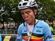 """""""Un grave incident"""" a poussé Wout Van Aert à rompre son contrat"""
