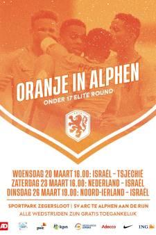 Jeugdinterlands Oranje en Israël bij ARC: 'geen extra beveiliging nodig'