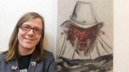 Peter Vereecken stelt werken tentoon in bibliotheek
