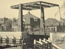 Rozenbrug in Woerden wordt weer grijs, zoals het ook in 1937 was