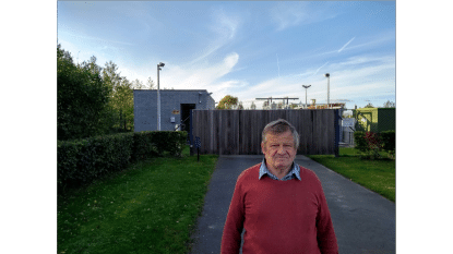 Gemeenteraadslid Luc Caenepeel pleit voor extra waterbuffers aan waterzuiveringsinstallaties