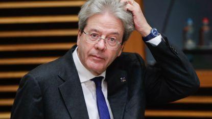 """Eurocommissaris Gentiloni: """"Het Europese project dreigt weg te zinken"""""""