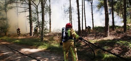 Negen brandweermannen Reusel geëerd met lintje
