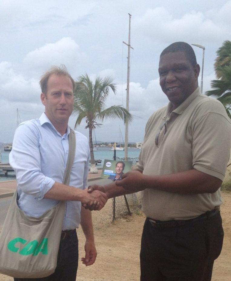 Erkel op Bonaire Beeld