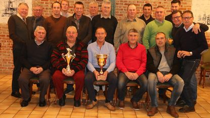 Kurt is clubkampioen en Marc clubkoning van de Steenputvissers