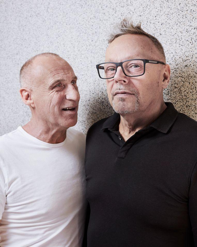 Erwin Kokkelkoren (links) en Bert Oele.  Beeld Erik Smits