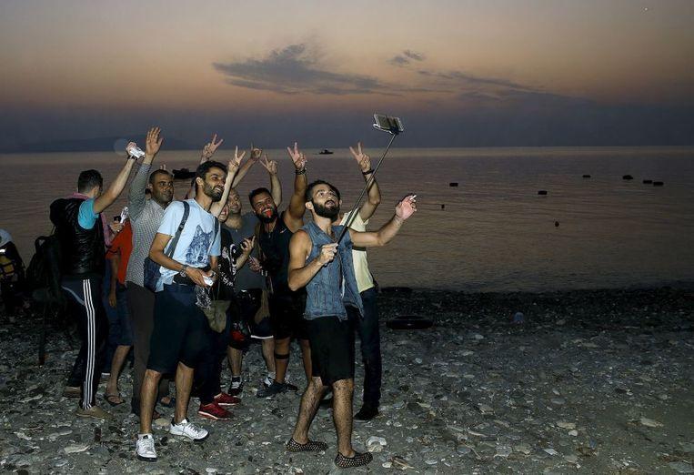 In juli kwamen in Griekenland meer dan 50.000 migranten aan. Dat is meer dan in heel het jaar 2014.