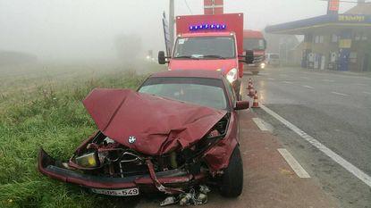 Verschillende ongevallen door mist