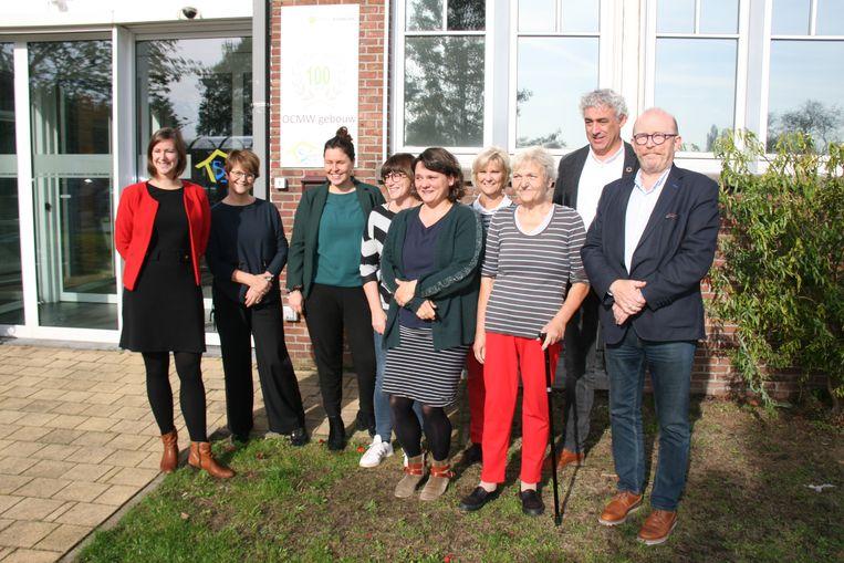 Het team achter het vrijwilligersportaal.