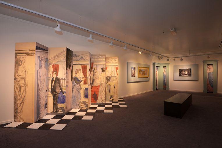 Een sfeerbeeld van de nieuwe tentoonstelling