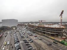 Bouw multifunctioneel gebouw Eindhoven Airport bereikt hoogste punt
