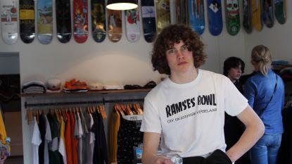 Pieter-Jan opent op z'n 15de (!) eigen skateshop. Openingsuren? Wanneer hij niet op school zit