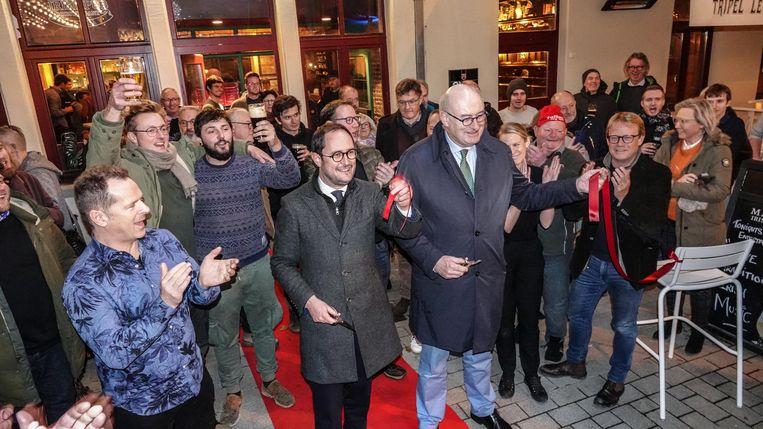 De nieuwe kroeg Mary's in Kortrijk is afgelopen weekend feestelijk geopend.